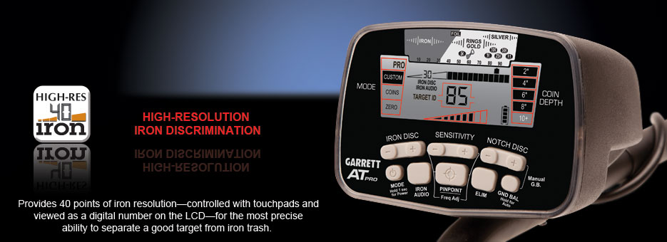 Garrett AT Pro Metal Detector: NEW LOWER PRICE!
