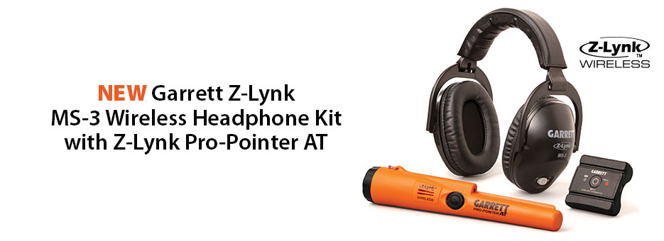 Garrett Z-Lynk Wireless Headphone Kit with Z-Lynk Pro-Pointer