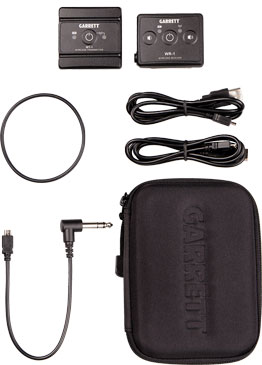 "NEW! Garrett Z-Lynk Wireless System: ¼"" Headphone Kit"