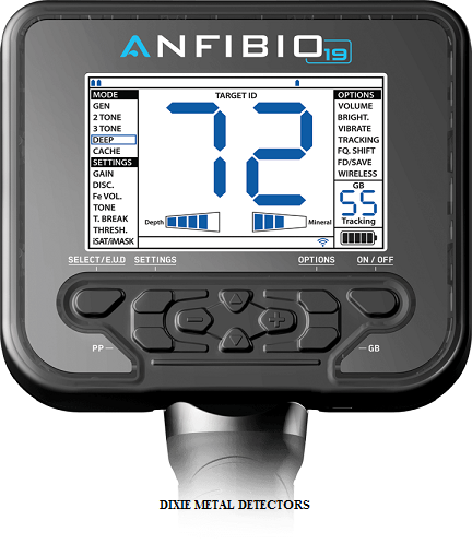 Nokta Anfibio 19 Waterproof-Wireless metal detector-Coins-Relics