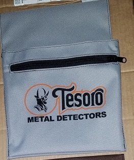 Tesoro Treasure pouch: low inventory remaining
