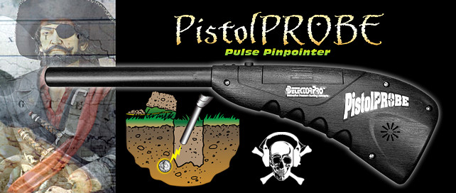 Detector Pro Pistol Probe: Deep seeking tunable probe!