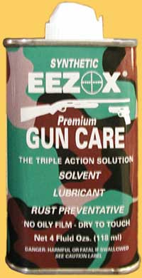 Eezox Premium gun care 4 oz can