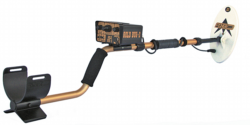 "Gold Bug-2 Detector with 6.5"" or 10"" coil"