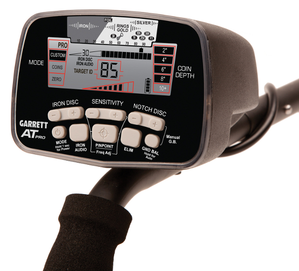Garrett AT Pro Metal Detector with bonus pack! - Click Image to Close